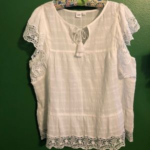 Gap Lacey Blouse NWT